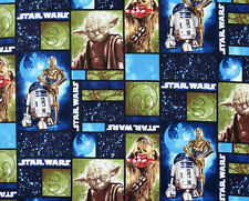 Patchwork Quilting Sewing Fabric STARWARS Material Cotton 50x55cm FQ New