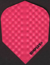 All Pink Dimplex Dart Flights: 3 per set