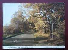 POSTCARD LEICESTERSHIRE NEWTON LINFORD - JOE MOORES LANE