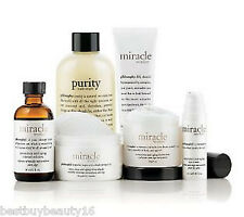 Philosophy MIRACLE WORKER NECK CREAM -FULL SIZE KIT & MORE ~~  ALWAYS NEW ~~