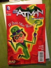 Batman #30 NM+ Mad Magazine Limited Variant w/ Alfred E Newman as Riddler