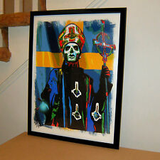 Papa Emeritus III, Ghost, Vocals, Heavy Metal, Doom Metal, 18x24 POSTER w/COA 2