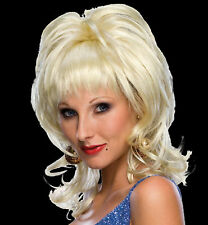 Country Singer Wig blonde TV music celebrity diva costume hair theatrical Dolly