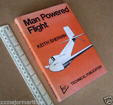 """1971 MAP Book """"Man Powered Flight"""" by K.Sherwin. State of the Art in 1971"""