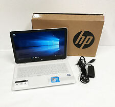 HP Pavilion 15-au091nr 15.6'' Touchscreen Laptop Intel i5 2.3GHz Blizzard White