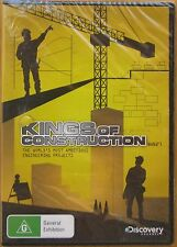 Kings Of Construction - 6 x 52'1 (DVD, 2009, 2-Disc Set) BRAND NEW AND SEALED R4