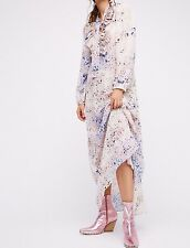 NWT ☮ FREE PEOPLE X Lily and Lionel Sheer Star Maxi Dress ☮ Medium