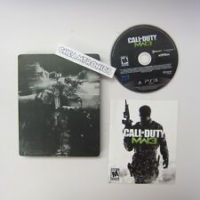 Call of Duty Modern Warfare 3 MW3 - Steelbook - Excellent Condition (PS3, 2011)