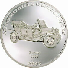 Congo 2002 Berliet 10 Francs Silver Coin,Proof