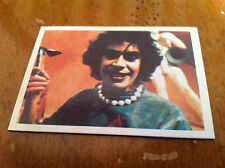 Vintage THE ROCKY HORROR PICTURE SHOW #43 Trading Card Movie Music Credit Film