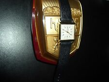 "EXCELLENT*HELBROS""WIND-O-MATIC""AUTOMATIC DOCTOR'S WATCH*17J*10KGF*W/BOX*RUNS"