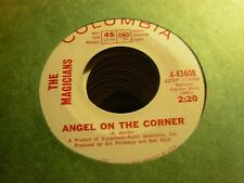 "MAGICIANS angel on corner / about my love ( rock garage ) - 7"" / 45 - PROMO"