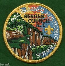 BOY SCOUT HISTORIC TRAILS PATCH - PALISADES HISTORIC TRAILS - FREE SHIPPING  XX