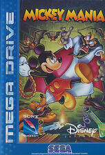 ## Mickey Mania (Disney) - SEGA Mega Drive / MD Spiel - TOP ##