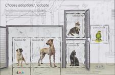 Canada 2013 #2636 - Adopt a Pet Souvenir Sheet MNH
