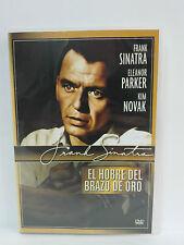 EL HOMBRE DEL BRAZO DE ORO Dvd original Frank Sinatra y Eleanor Parker 1955
