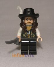 Lego Angelica from Set 4195 Queen Anne's Revenge Pirates of Caribbean NEW poc006