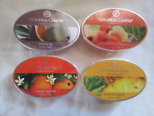 4 Colonial Candle ~~TROPICAL FRUITS~~ Simmer Snaps/ Tarts 2.4oz Ovals Free ship