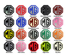 Custom Order MG TF Steering Wheel Badge Choice of Colour 1 Badge Insert Only