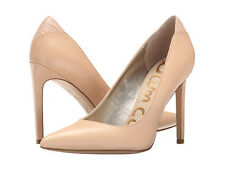Sam Edelman Dea nude leather heels size 9 new in box