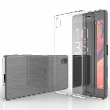 Yousave Accessories Ultra Thin Clear Silicone Gel Case Cover for Sony Xperia X