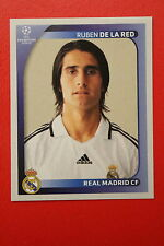 PANINI CHAMPIONS LEAGUE 2008/09 # 446 REAL MADRID FC DE LA RED BLACK BACK MINT!