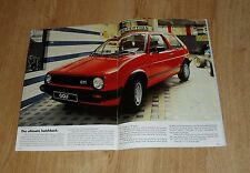 Volkswagen VW Golf Mk2 Brochure 1984-1985 - C CL GL GTI 3 & 5 door