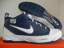 "NIKE ZOOM LBJ AMBASSADOR ""LEBRON JAMES"" NAVY BLUE SZ 16 SUPER RARE! [333492-411]"