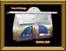 Exhale Duo CO2 Bags For Grow Tents Hydroponics Homegrown Yield Booster