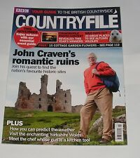 BBC COUNTRYFILE NOVEMBER 2010 - JOHN CRAVEN'S ROMANTIC RUINS/WILD DAYS OUT