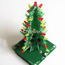 Weihnachtsbaum LED-Laufschrift Blinklicht DIY Rot Grün Blitzschaltung LED