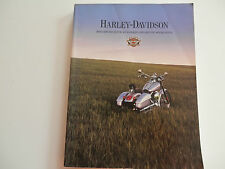 Harley Motor Accessories Catalog Zubehör Katalog 2000 Sportster & Big Twin