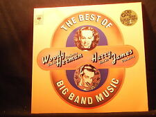 The Best Of Big Band Music - Woody Herman/Harry James   2 LPs