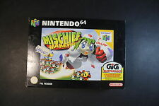 [F13] MISCHIEF MAKERS - NINTENDO 64 - 1997 - PAL VERSION - NEW BOXED - FONDO MAG
