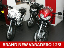 BRAND NEW Honda Varadero XL125V. Red or Black Available Now. £4,995