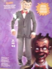 BRAND NEW GOOSEBUMPS SLAPPY COSTUME sz 10-12 DELUXE CHILD MASK DISGUISE MOVIE