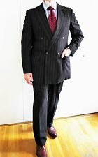 Get the Royal Look: CHESTER BARRIE SAVILE ROW Charcoal Suit 42R Peak Lapels UK