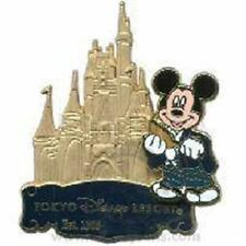 MICKEY Mouse TOKYO GOLD CARD Collection GOLDEN CASTLE LE 2000 TDL PIN
