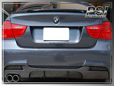 P Type Carbon Fiber Rear Diffuser fit 2006-2011 BMW E90 E91 3-Series M-Tech 00..