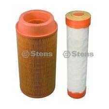 Stens#102-392 & 102-388 Inner & Outer Air Filter Combo Kubota K3181-82250/ 82240