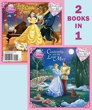 CINDERELLA and the LOST MOUSE / BELLE and the CASTLE PUPPY 2 STORIES *BRAND NEW*
