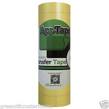 Reusable Application Tape Film Roll 150mm VinyTransfer Silhouette Portrait