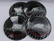 BMW AC Schnitzer WHEEL HUB CAPS BADGE EMBLEMA ADESIVI 65MM Set di 4 RESINA EPOSSIDICA
