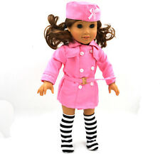 new Handmade fashion clothes dress for 18inch American girl doll party b91