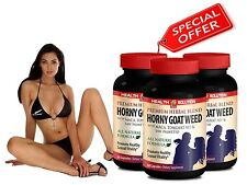 PREMIUM HORNY GOAT WEED SEXUAL PILLS - Herbal Blend - Healthy Sexual Vitality 3B