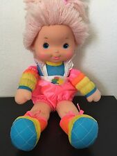 Rainbow Brite Baby Brite Doll Tickled Pink Mattel Hallmark 1983 Vintage