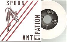 SPOON Anticipation 2 UNRELEASED TRX 880 MADE WHITE 7 INCH VINYL Canada Made 2007