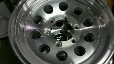 15 X 6 ALUMINUM MOD 6x5.5  TRAILER / RV WHEEL -TRAILER CITY DIRECT LOW $