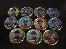 1989 Topps Baseball Coins---Lot Of 11---See List