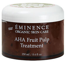 Eminence Aha Fruit Pulp Treatment Dry Skin 250ml(8.4oz) Dry Acne Skin Fresh New